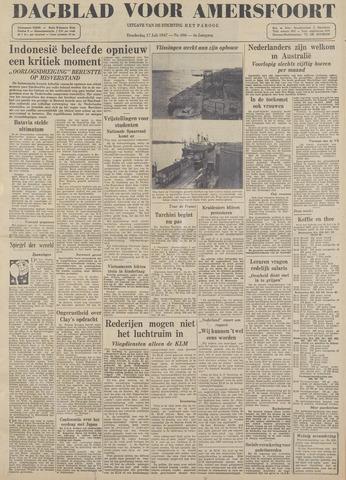 Dagblad voor Amersfoort 1947-07-17