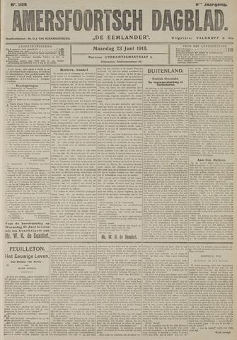 Amersfoortsch Dagblad / De Eemlander 1913-06-23