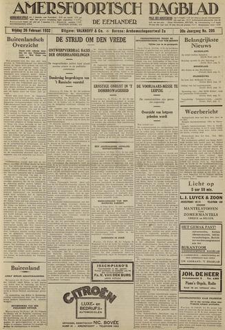 Amersfoortsch Dagblad / De Eemlander 1932-02-26