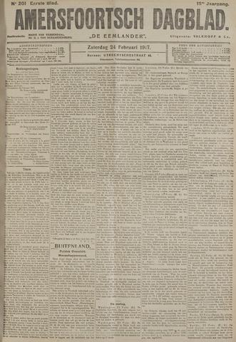 Amersfoortsch Dagblad / De Eemlander 1917-02-24