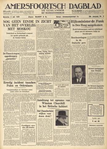 Amersfoortsch Dagblad / De Eemlander 1939-07-05