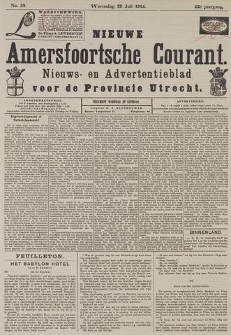 Nieuwe Amersfoortsche Courant 1914-07-22