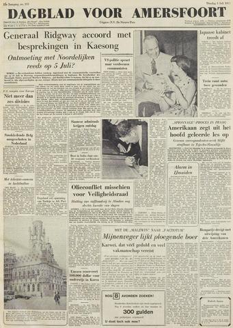 Dagblad voor Amersfoort 1951-07-03