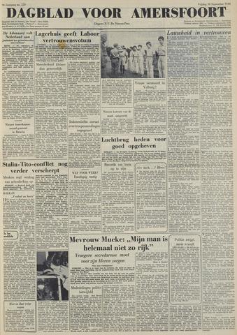 Dagblad voor Amersfoort 1949-09-30