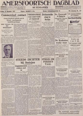 Amersfoortsch Dagblad / De Eemlander 1937-11-19
