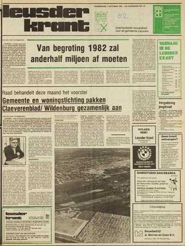 Leusder Krant 1981-10-01