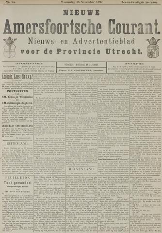 Nieuwe Amersfoortsche Courant 1897-11-24