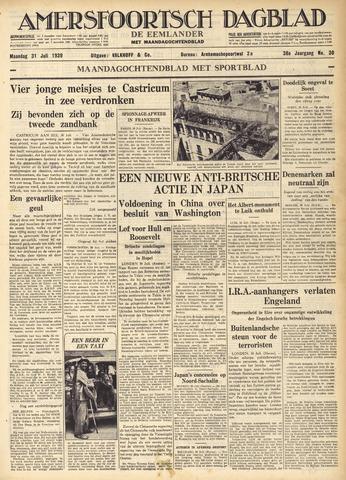 Amersfoortsch Dagblad / De Eemlander 1939-07-31