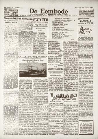 De Eembode 1940-07-19