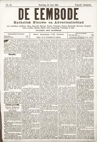 De Eembode 1895-06-22