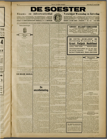 De Soester 1934-01-10