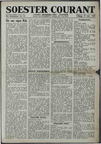 Soester Courant 1946-10-25