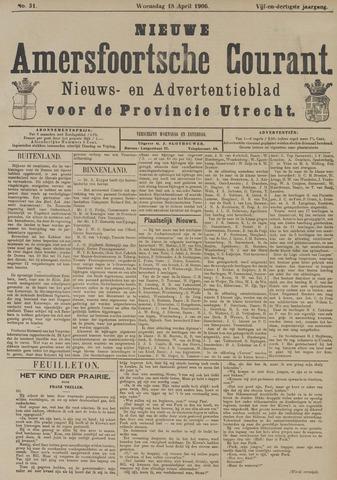 Nieuwe Amersfoortsche Courant 1906-04-18