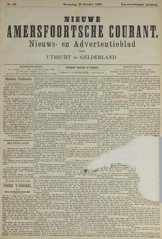 Nieuwe Amersfoortsche Courant 1892-10-26