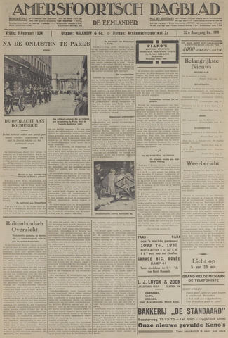 Amersfoortsch Dagblad / De Eemlander 1934-02-09