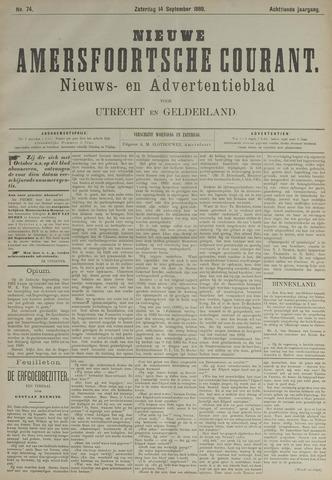 Nieuwe Amersfoortsche Courant 1889-09-14