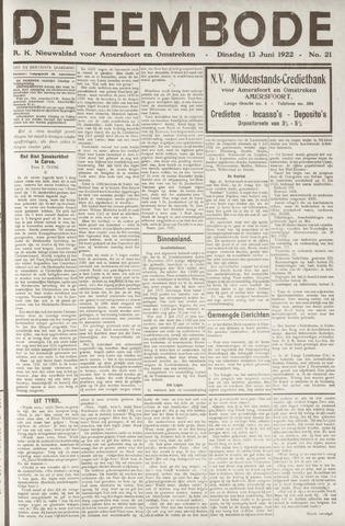 De Eembode 1922-06-13