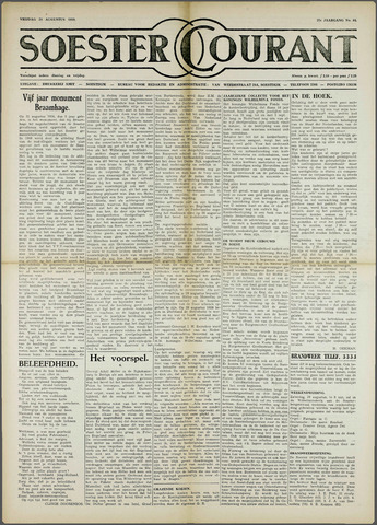 Soester Courant 1959-08-28