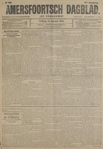 Amersfoortsch Dagblad / De Eemlander 1916-01-14
