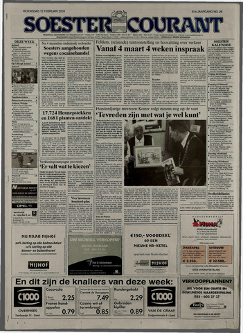 Soester Courant 2003-02-12