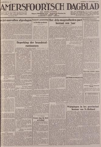 Amersfoortsch Dagblad / De Eemlander 1941-09-27