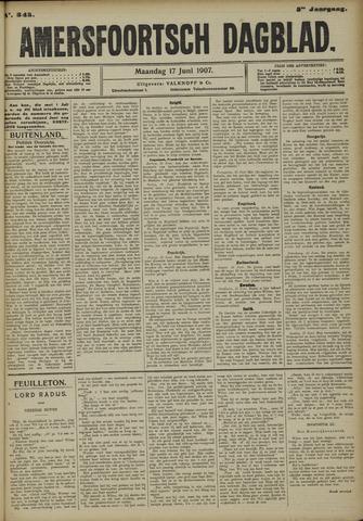 Amersfoortsch Dagblad 1907-06-17