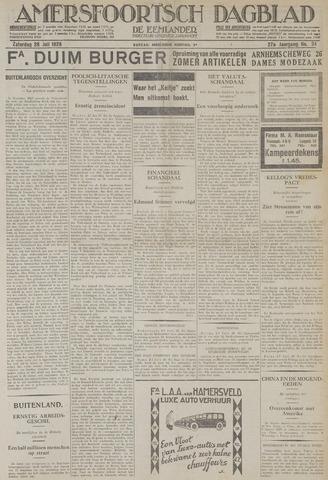 Amersfoortsch Dagblad / De Eemlander 1928-07-28