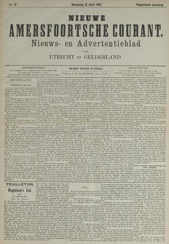 Nieuwe Amersfoortsche Courant 1890-04-16