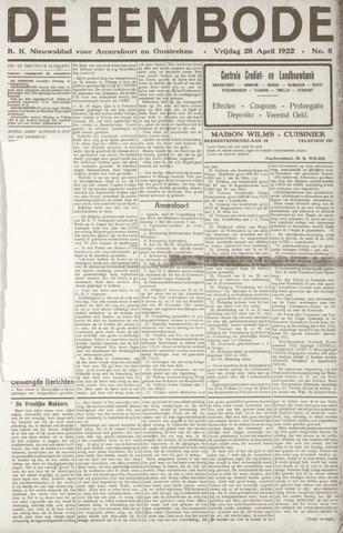 De Eembode 1922-04-28