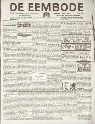 De Eembode 1925-12-01