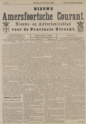 Nieuwe Amersfoortsche Courant 1909-11-13