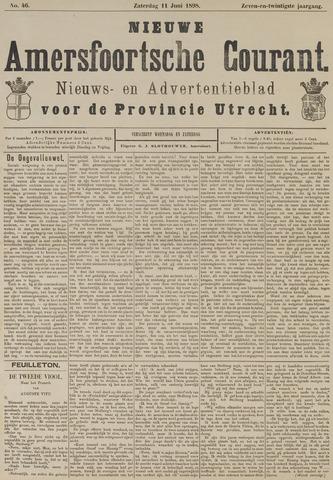 Nieuwe Amersfoortsche Courant 1898-06-11