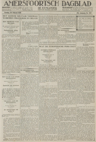 Amersfoortsch Dagblad / De Eemlander 1929-02-26