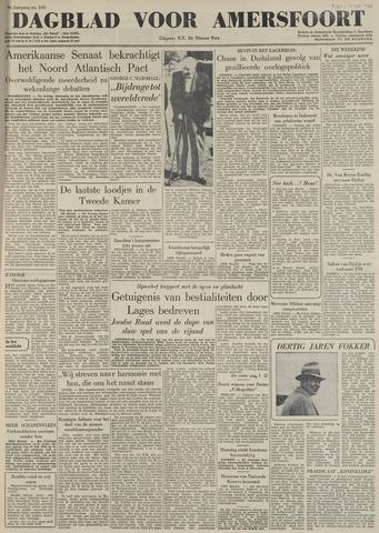Dagblad voor Amersfoort 1949-07-22