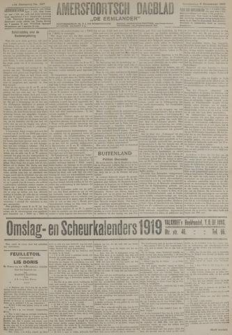 Amersfoortsch Dagblad / De Eemlander 1918-12-05