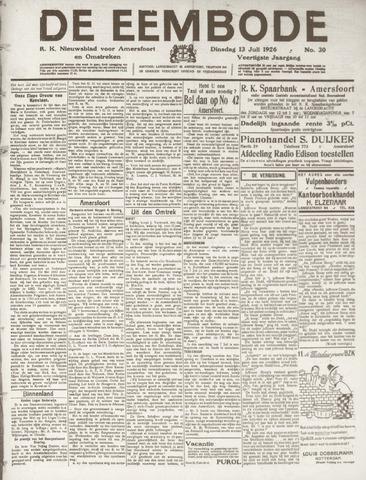 De Eembode 1926-07-13