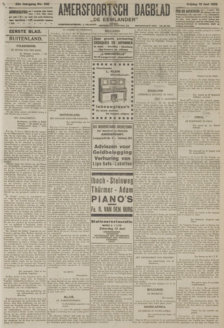 Amersfoortsch Dagblad / De Eemlander 1925-06-12