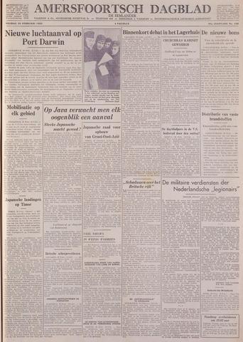 Amersfoortsch Dagblad / De Eemlander 1942-02-20