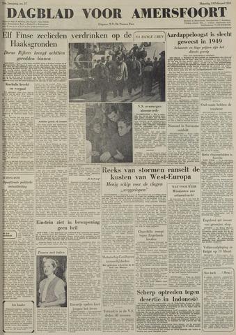 Dagblad voor Amersfoort 1950-02-13