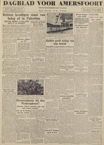 Dagblad voor Amersfoort 1947-03-03