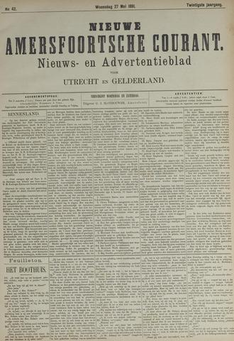Nieuwe Amersfoortsche Courant 1891-05-27