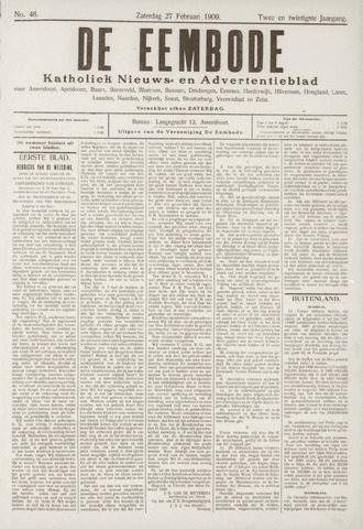 De Eembode 1909-02-27