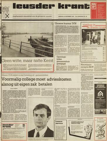 Leusder Krant 1987-12-22