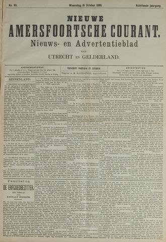 Nieuwe Amersfoortsche Courant 1889-10-16