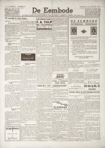 De Eembode 1938-01-18