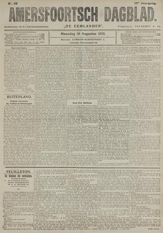 Amersfoortsch Dagblad / De Eemlander 1913-08-18