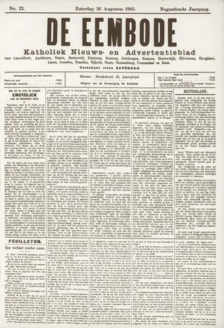 De Eembode 1905-08-26