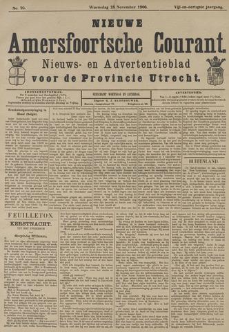 Nieuwe Amersfoortsche Courant 1906-11-28