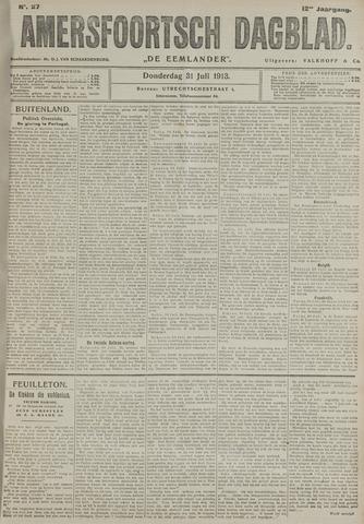 Amersfoortsch Dagblad / De Eemlander 1913-07-31