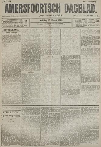 Amersfoortsch Dagblad / De Eemlander 1914-03-13